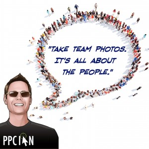 Take Team Photos. It's All About The People.