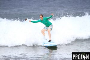 Ian Lopuch Surfing