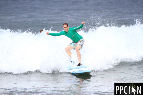 Ian Lopuch Surfing