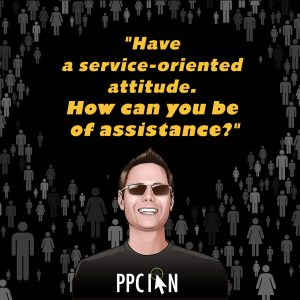Have a service-oriented attitude. How can you be of assistance?