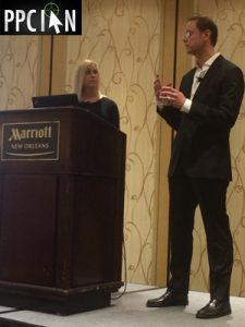 Ian Lopuch and Christine Munther Public Speaking Self Storage Association