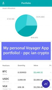 My Voyager App Account