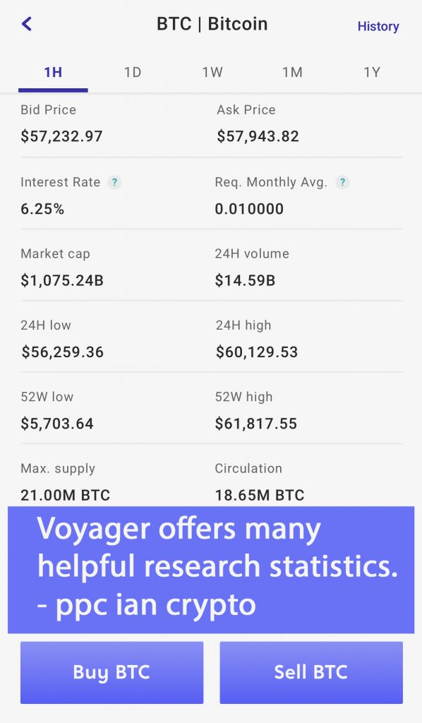Voyager App Crypto Research